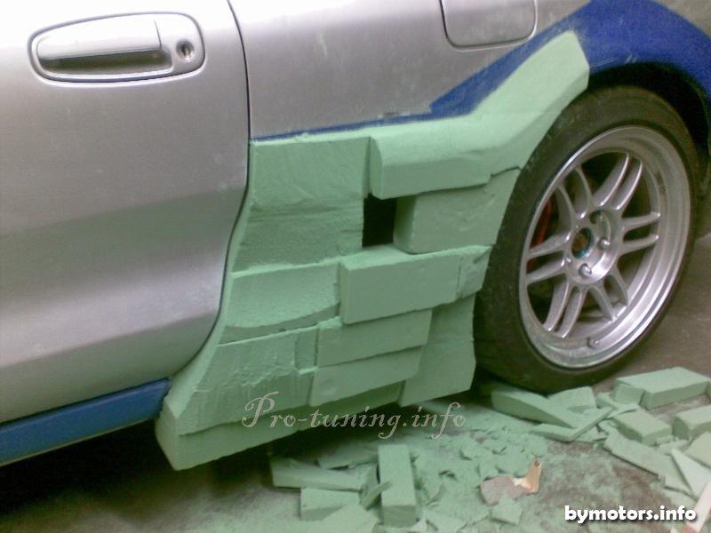 Как сделать машину дутой