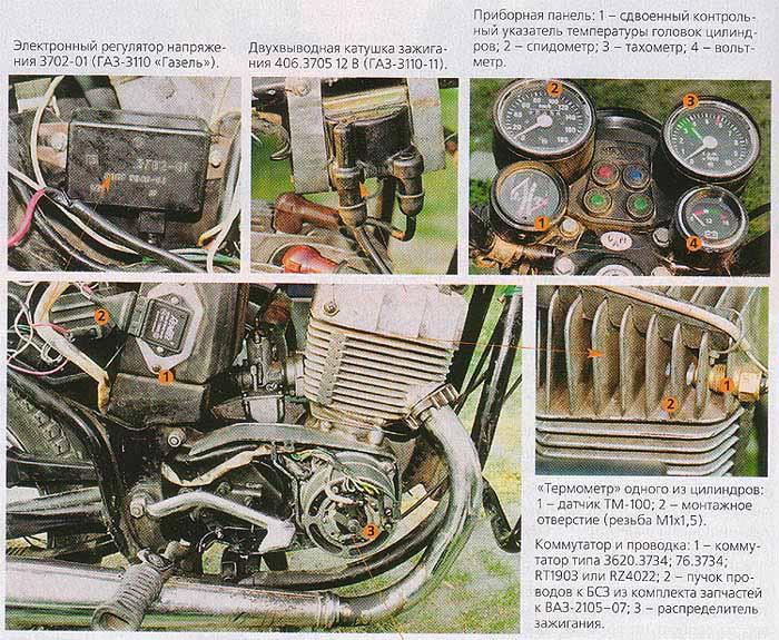 БСЗ на генератор Явы-638