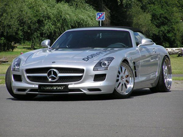 Mercedes-Benz SLS AMG Roadster � ������� Domanig