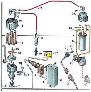 бесконтактная система зажигания:
