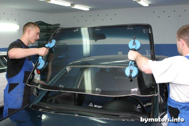 Как сделать ремонт лобового стекла