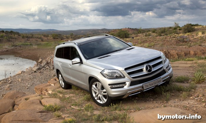 ����� �����������. ����-����� ������ Mercedes-Benz GL